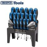 Draper 44 Pce Screwdriver Allen Key Torx & Bit Tool Set